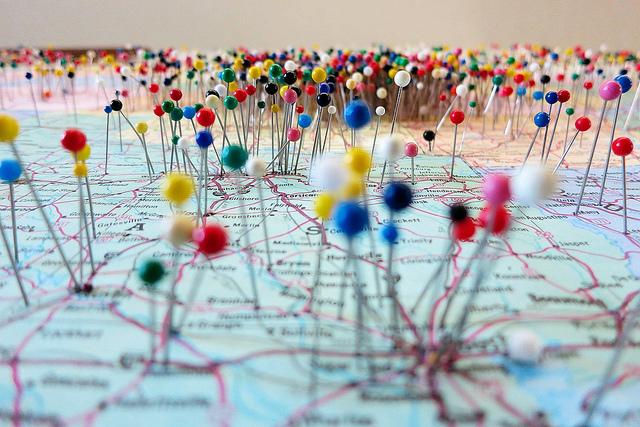 Uber, Airbnb, puntos en el mapa al futuro